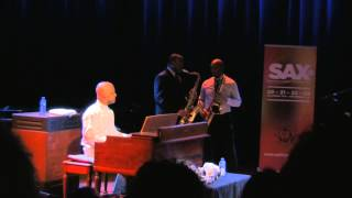 James Carter & Branford Marsalis SAX14 Amsterdam The Netherlands