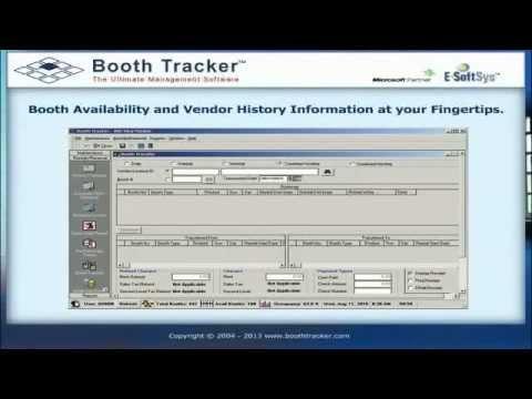 Booth Tracker Flea Market Software Youtube
