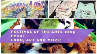 At Disney's Epcot International Festival of the Arts 2019   Art, Broadway Music, Food Reviews, Merch