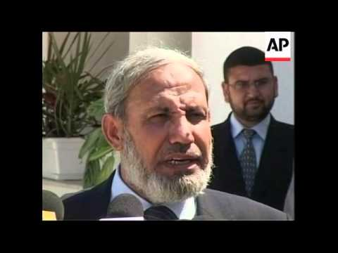 Egyptian intelligence chief meets Palestinian factions