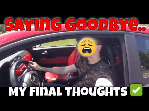 Saying goodbye.. (2013 Fiat 500 Abarth Review) Canadian Car Youtuber | 5 Things I love About my Fiat