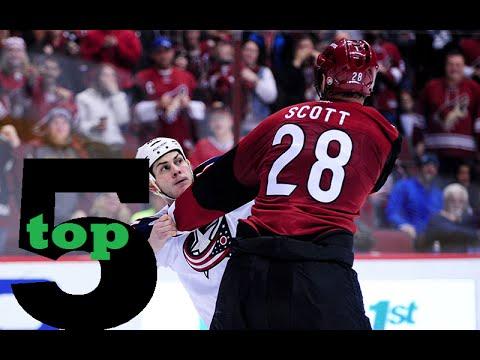 Top 5 NHL Hockey Fights of January 2016