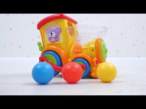 """Игрушка """"Паровозик Ту-ту"""" от Huile Toys"""