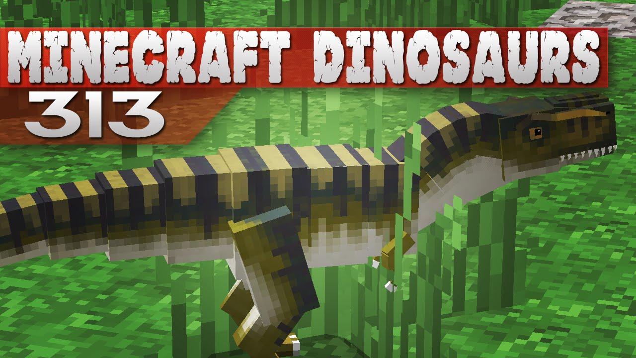 Minecraft Dinosaurs! || 313 || New Rex  Poet Plays