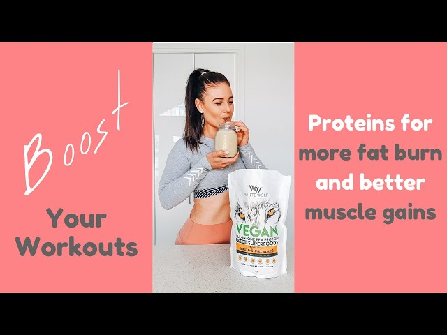 Best Proteins for More Fat Burning & Better Muscle Gains