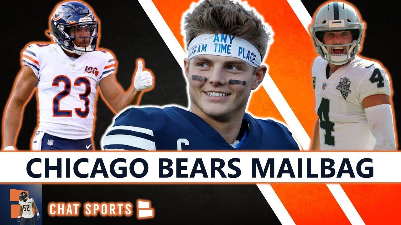 Chicago Bears Trade Rumors On Kyle Fuller & Derek Carr + Trade Up For Zach Wilson In 2021 NFL Draft?
