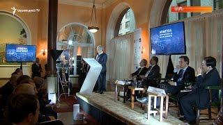 Սարգսյանը ԱՄՆ-ում խոսել է Հայաստանի ներդրումային միջավայրի մասին