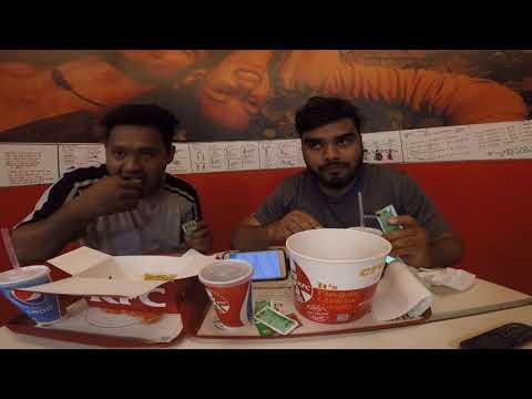 Kfc 18pc Chicken Bucket Challenge Chennai