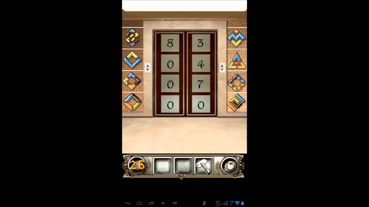 100 Doors Floors Escape Level 26 Walkthrough Youtube