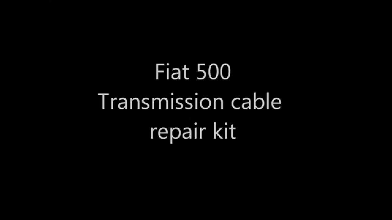 Fiat 500 Shift Cable Repair Kit Includes Replacement Bushing Youtube 12 Wiring Diagram