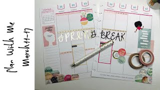 Plan With Me Mach 11 - 17   Classic Happy Planner   Boss Babe