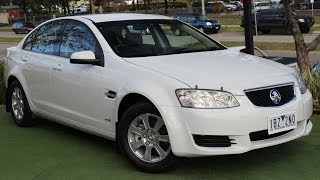 B5303 - 2011 Holden Commodore Omega VE Series II Auto Review