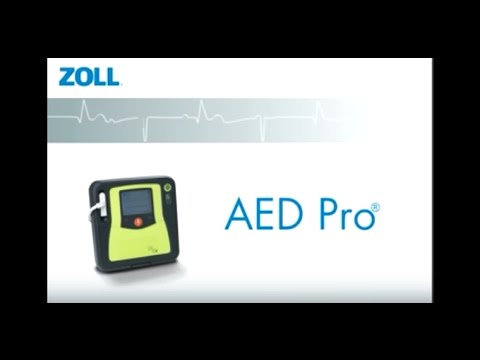 Zoll AED Pro Automated External Defibrillator Introduction