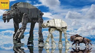 Why Star Wars Vehicles Have Legs
