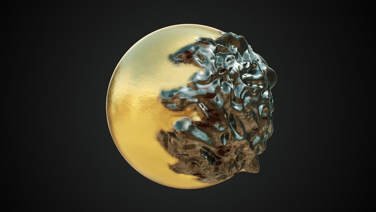 C4D Decay Effect- Cinema 4D Tutorial (Free Project)