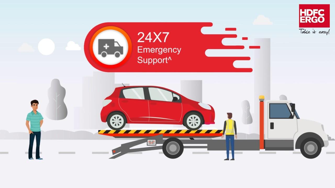 hdfc ergo car insurance renewal