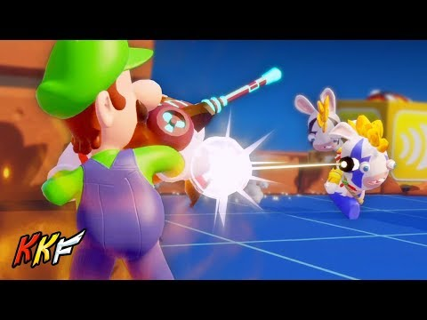 DLC Co-op Challenge: High Ground Hijinx (2 Player) - Mario + Rabbids Kingdom Battle