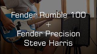 Fender Rumble 100 + Fender Precision Steve Harris