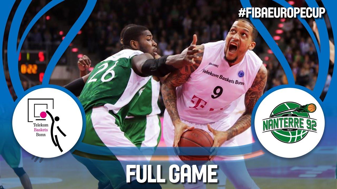 Re-watch: Telekom Baskets (GER) v Nanterre 92 (FRA) - Semi-Final