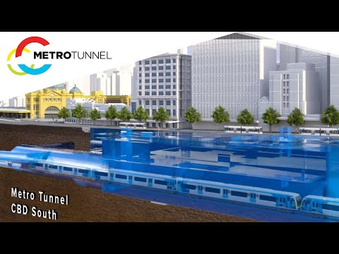 How the Metro Tunnel will free up space in the City Loop