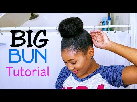 Big BUN Tutorial Using Clip Ins! (FOR SHORT HAIR) from YouTube · Duration:  6 minutes 16 seconds