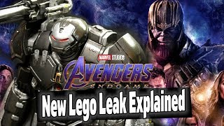 NEW Avengers Endgame Lego Leak Explained   Big Scenes Spoiled??