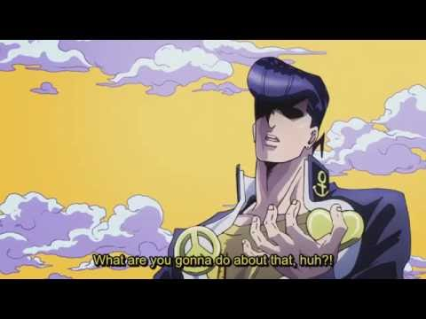 JoJo's - Josuke What did you just say about my hair?
