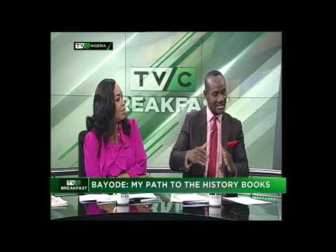 TVC Breakfast 16th March 2018   Bayode: My Path to the History Books