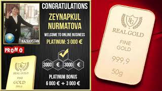 Real Gold отзыв клиента Нурматова Зейнапкуль Казахстан
