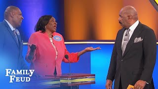 SPARKS FLY! Cook your OWN DINNER... and MINE! | Family Feud