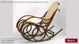 Bentwood Antique Chair/rocking Chair Secessionist Seating