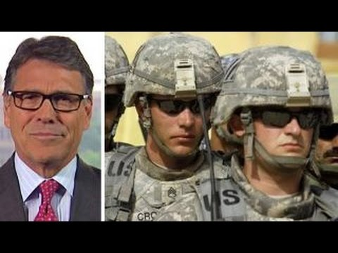 Rick Perry: Military vote will be crucial in 2016 election