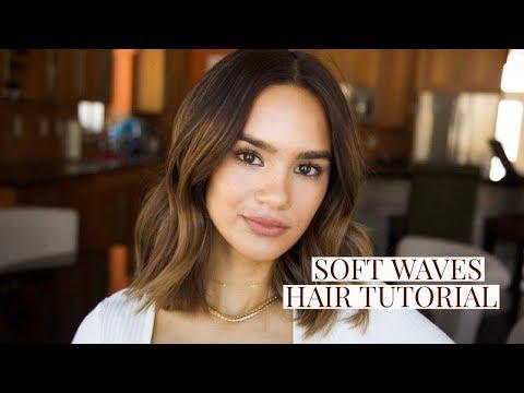SOFT BENDY WAVES HAIR TUTORIAL | SHORT HAIR | DACEY CASH
