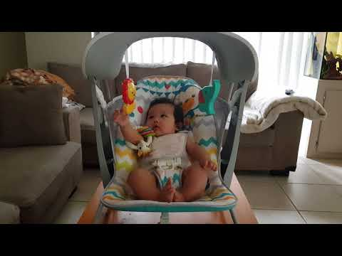 Fisher Price Colourful Carnival Take Along Swing & Seat - 4 Month Old Baby