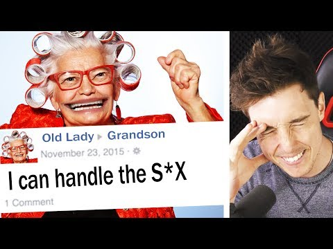 THE WEIRDEST OLD PEOPLE ON FACEBOOK!