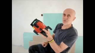 Hilti Laser krzyżowy PM 40-MG, uchwyt ścienny.