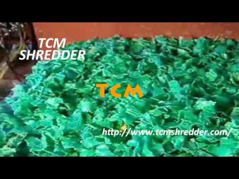 Single-shaft shredder for pipe hdpe plastic machine