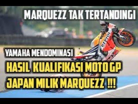 Hasil Kualifikasi MotoGP Jepang: Marc Marquez Raih Pole Position, Valentino Rossi Malah Kedodoran