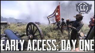 WAR OF RIGHTS | Steam Early Access | DAY ONE GAMEPLAY!