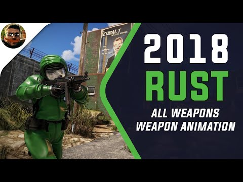 Rust All Weapons