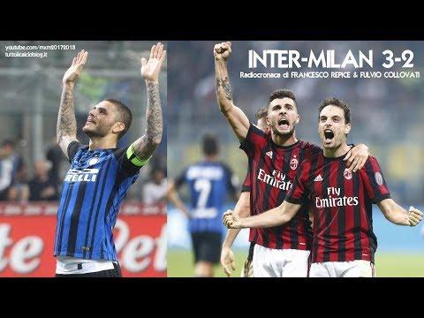 Inter-Milan 3-2 - Tutta la radiocronaca di Francesco Repice & Fulvio Collovati (15/10/2017) Radio 1