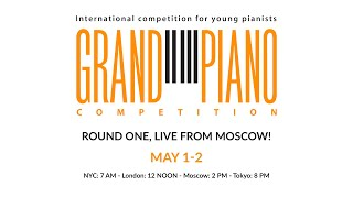 [#GPC2021] Grand Piano Competition 2021 - 1st Round Day 1