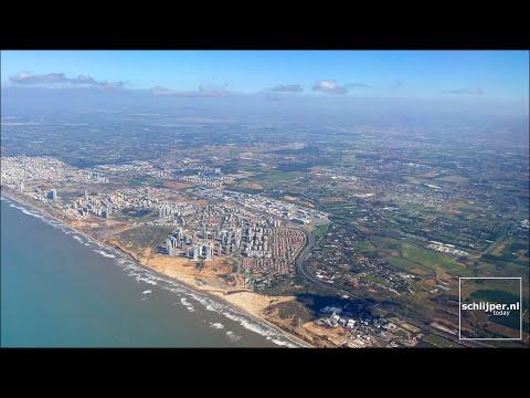 Israel \u0026 The Palestinian Territories Aerial (+ City Names)
