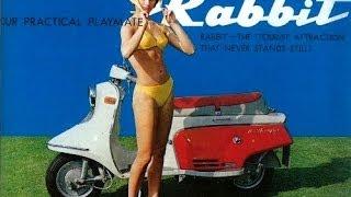Vintage Fuji Rabbit Motor Scooters