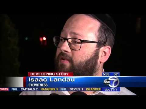 Jewish EMS volunteer stabbed in possible hate crime