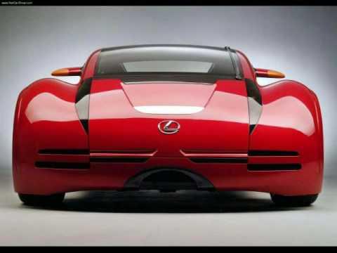2054 Lexus Minority Report Sports Car