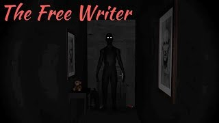 The Free Writer: Director's cut Full Game & Ending Playthrough Gameplay (indie horror Game)