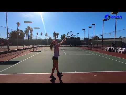 Tennis Recruiting Shayee Sherif Fall 2018
