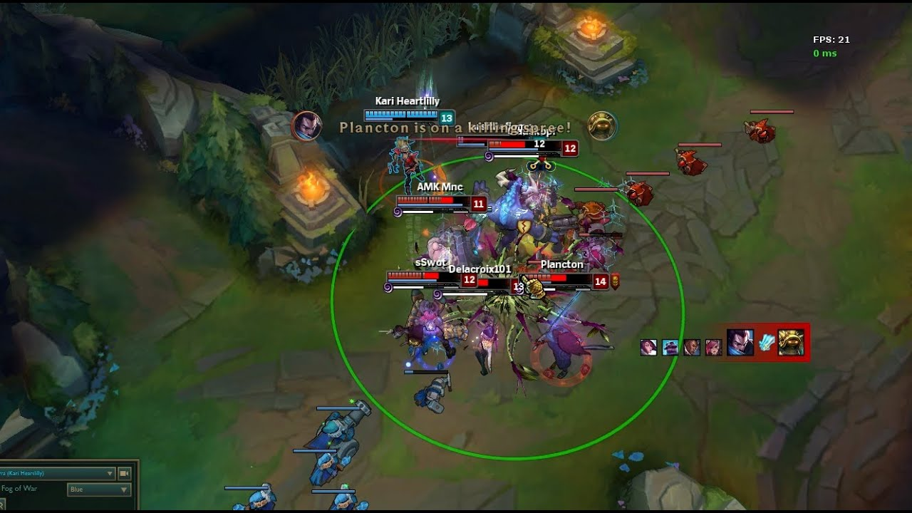 5 Man Alistar and Zyra Combo - League of Legends