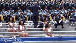 SU Dolls 1st half Stands Southern University Human Jukebox @ LATECH 2015